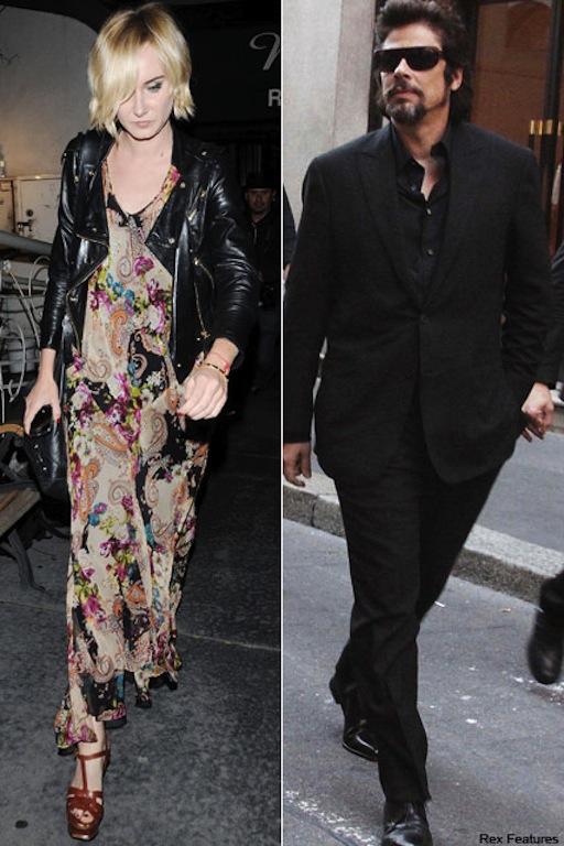 Kimberly-Stewart si Benicio del Toro - Placerile lui Noe