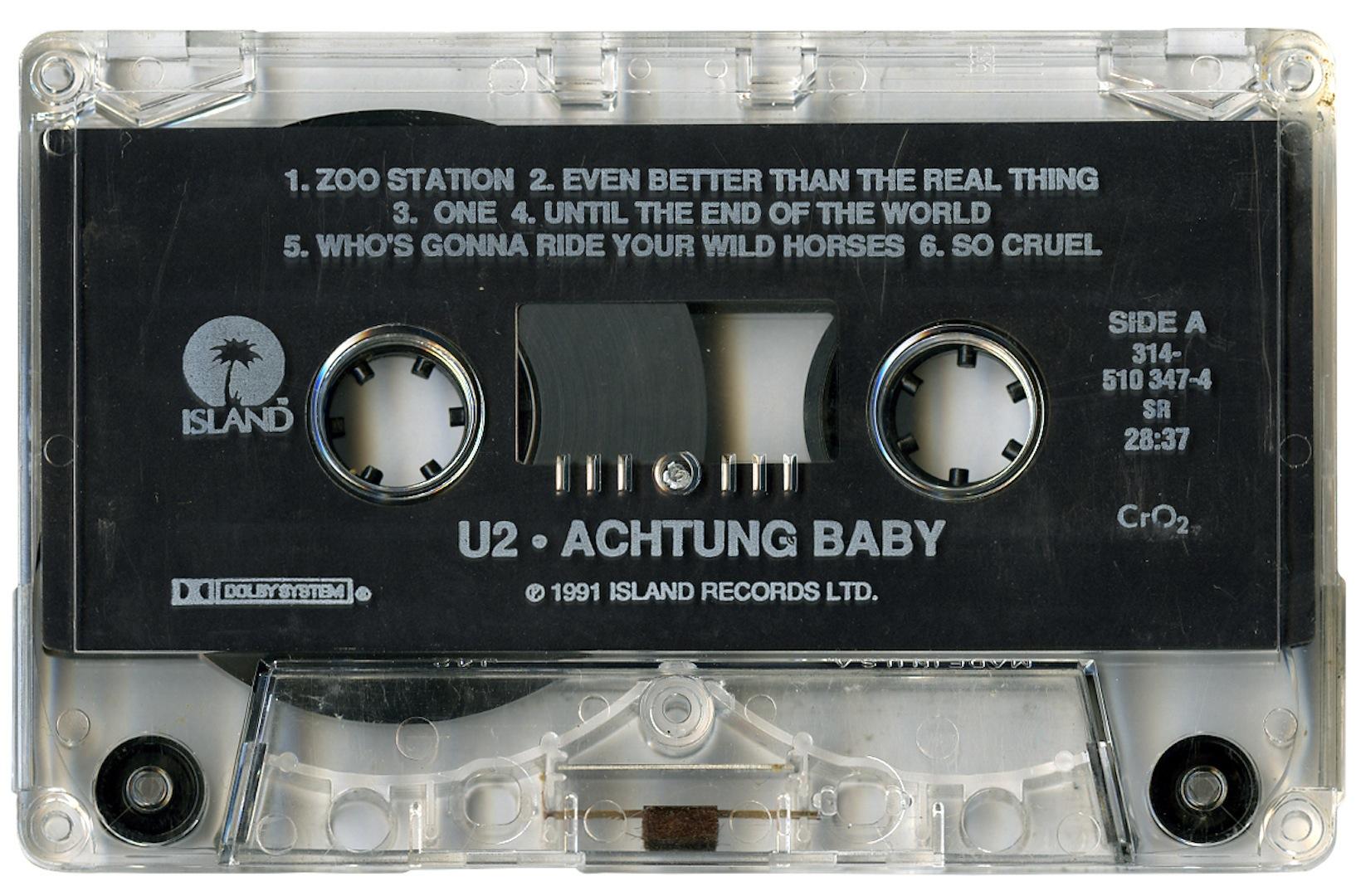 Achtung Baby deschidere mare