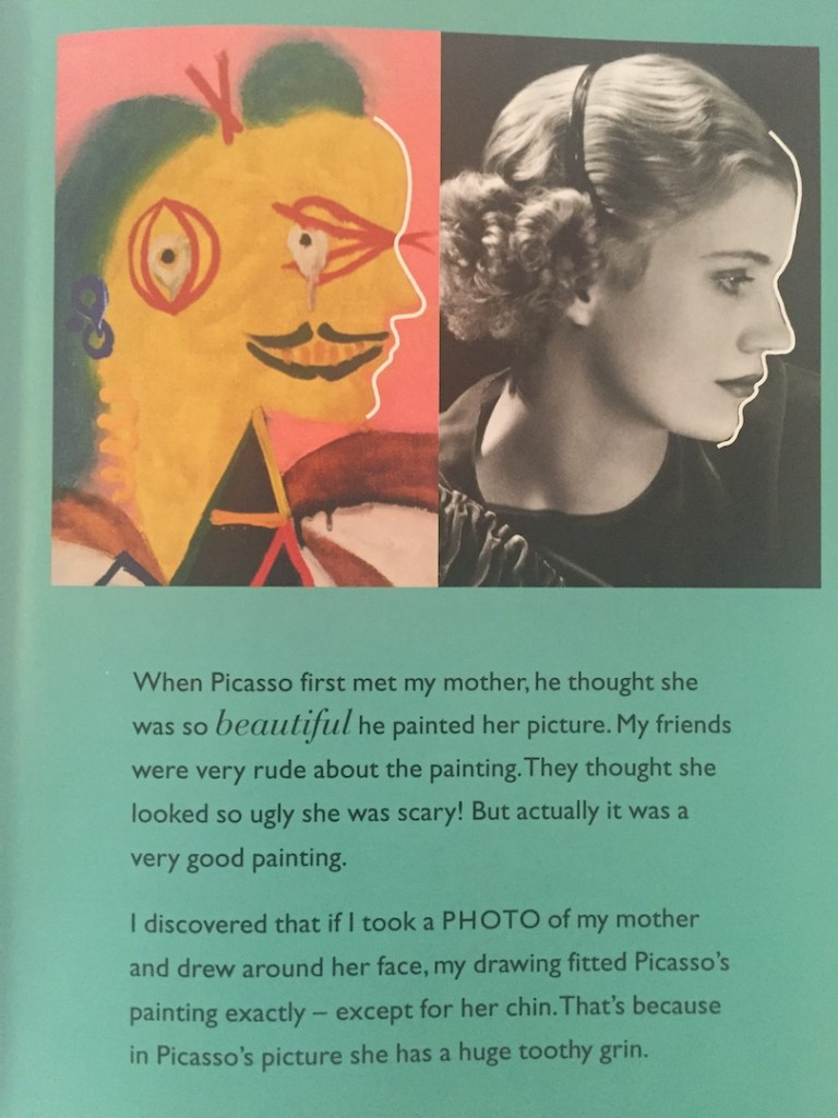 Lee Miller pictata de Picasso