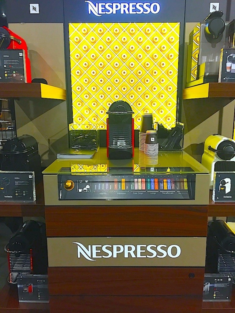 Nespresso station