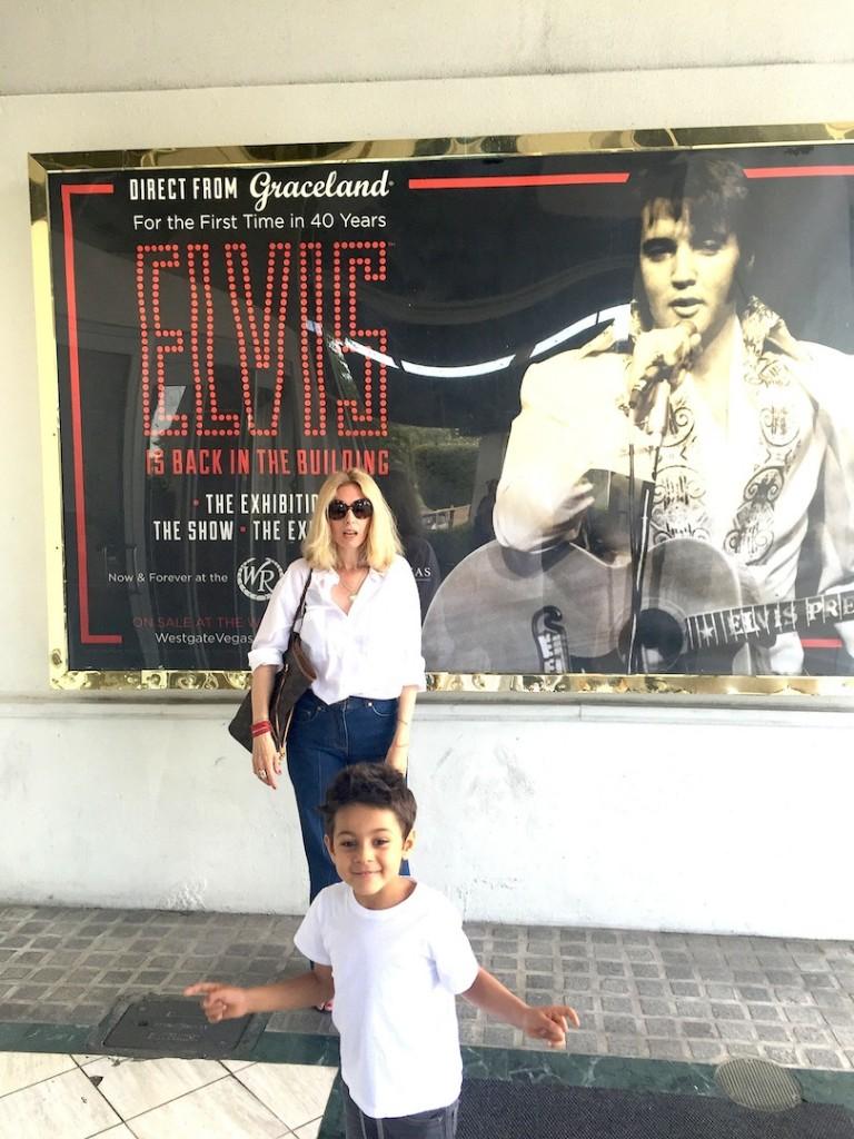 Cu Avi la expo Elvis, Westgate Hotel Las Vegas, 25 mai 2015