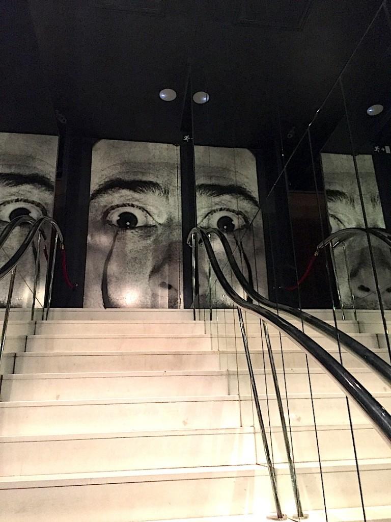 Figueres, scala cu oglinzi