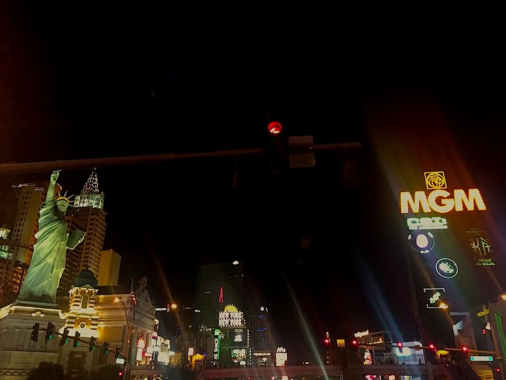 Las Vegas Strip, iulie 2015