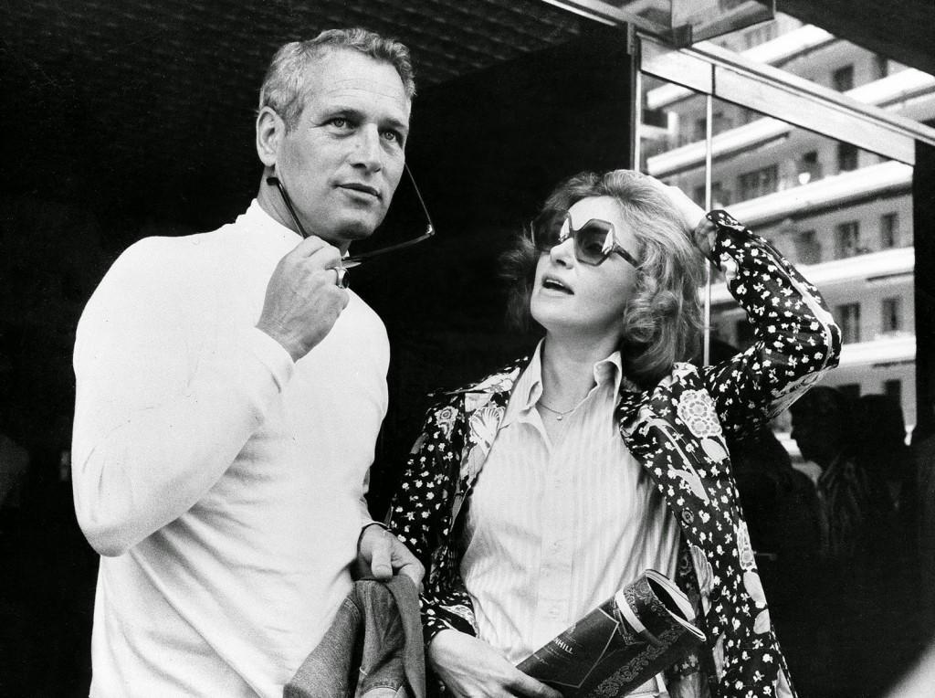 Paul Newman si Joanne Woodward la Cannes, 1973