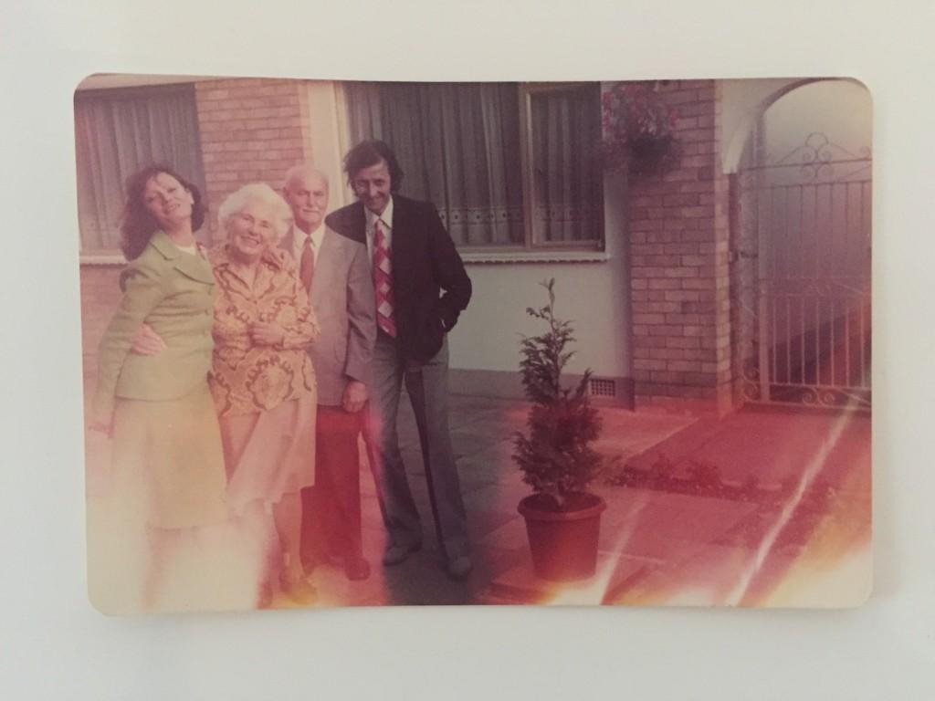 una dintre fotografiile preferate cu parintii mei