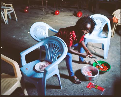 Daniela Groza, Kenya