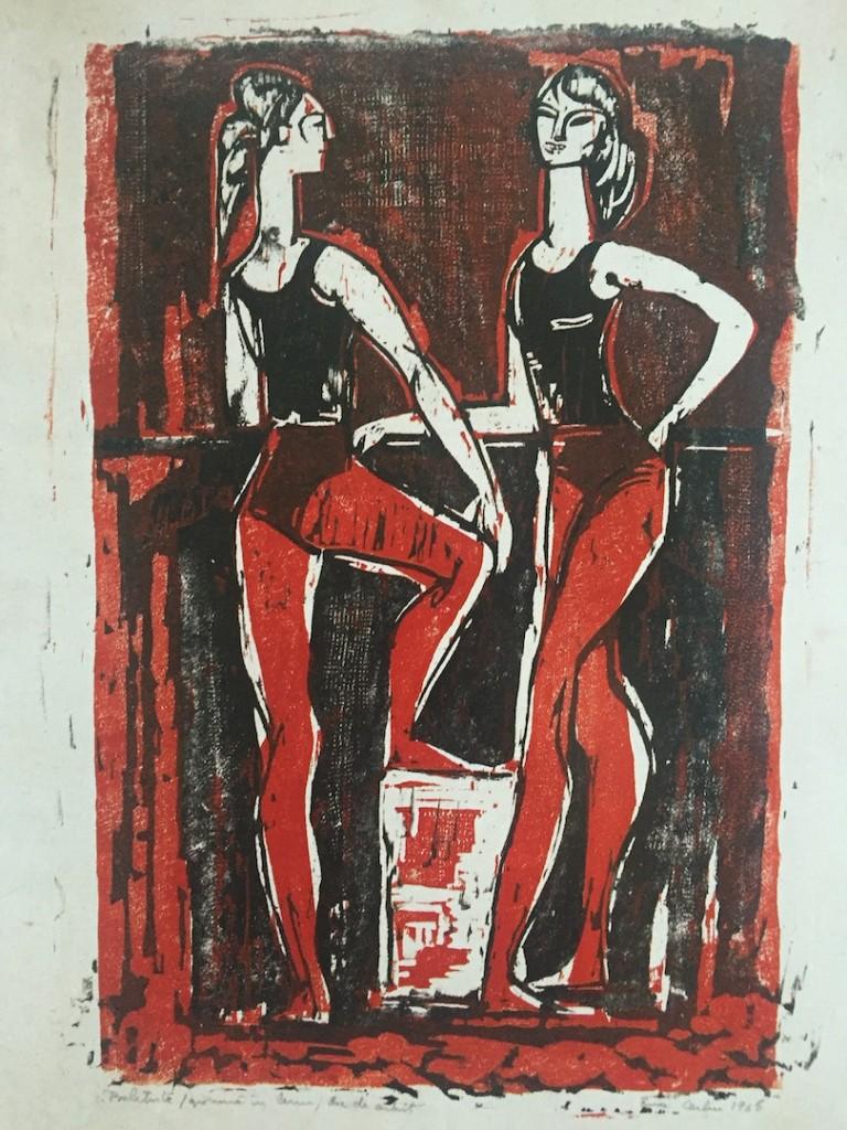 Eva Cerbu, baletistele