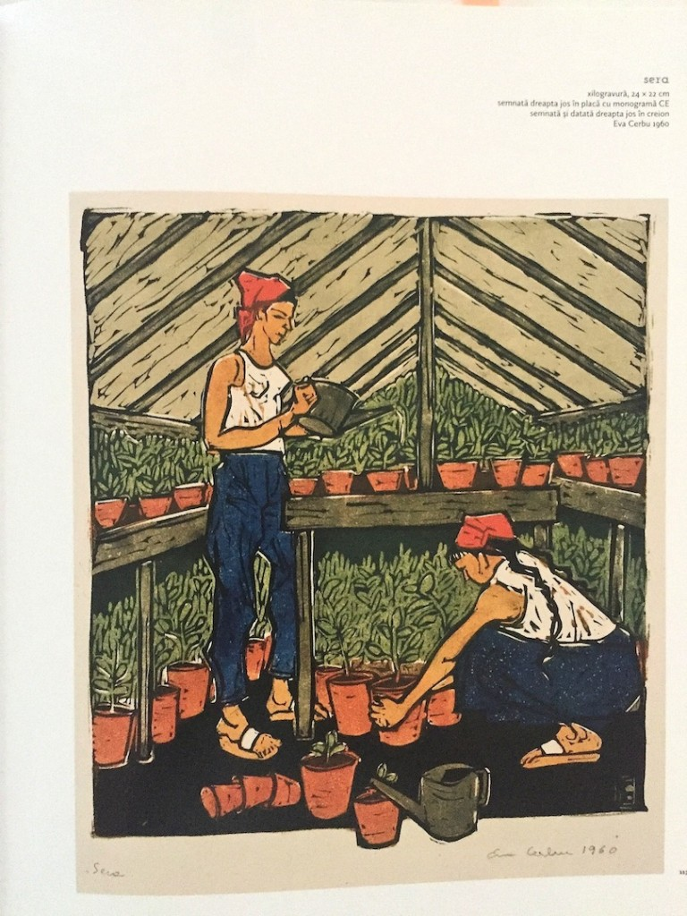 Eva, practica agricola