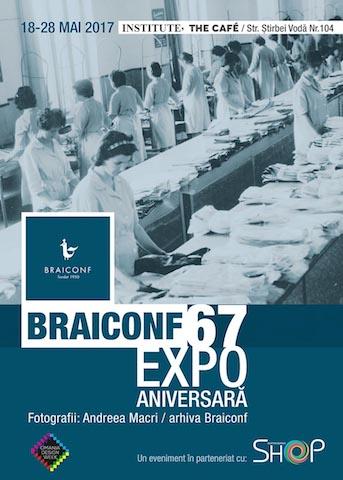 Braiconf, afisul expozitiei copy