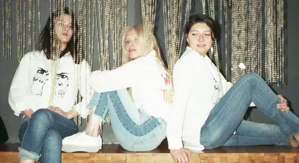 de la stanga la dreapta, Marina Moldovan, Noemi Meilman si Alina Rachieru