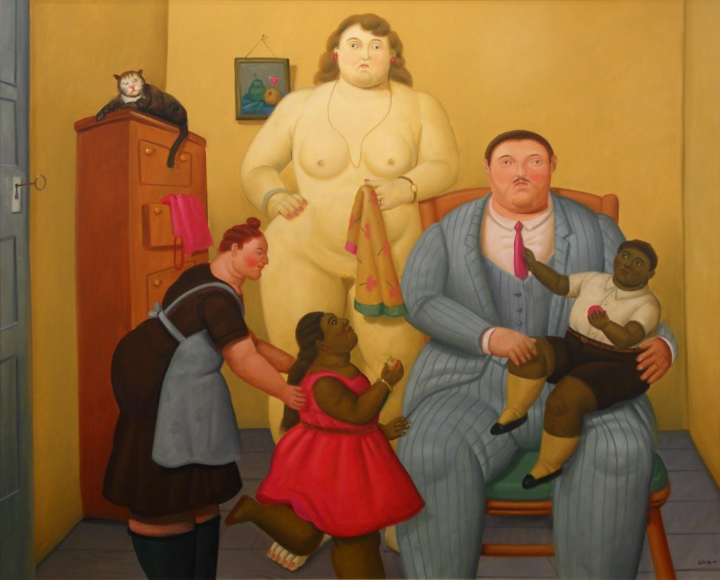 Fernando Botero, The Family