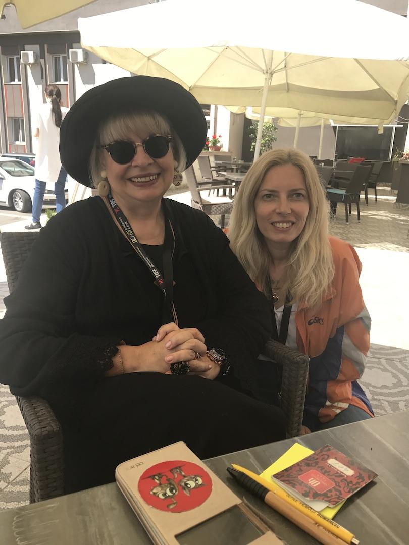 Irina Margareta Nistor and I, vineri, 9 iunie 2017, Cluj