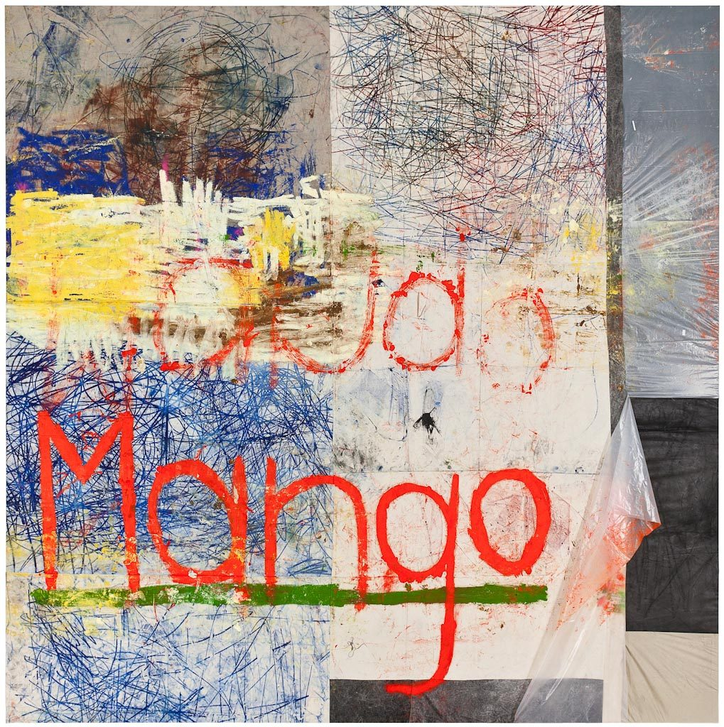 Oscar Murillo, Untitled Mango