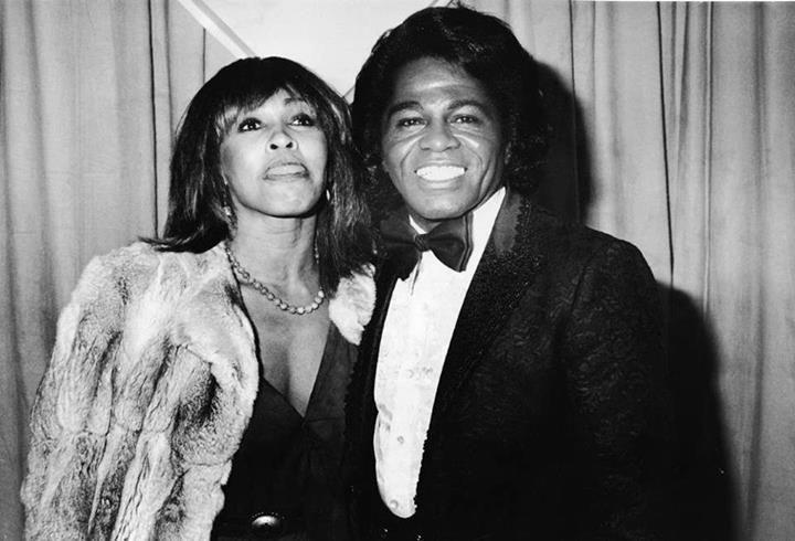 Tina Turner si James Brown