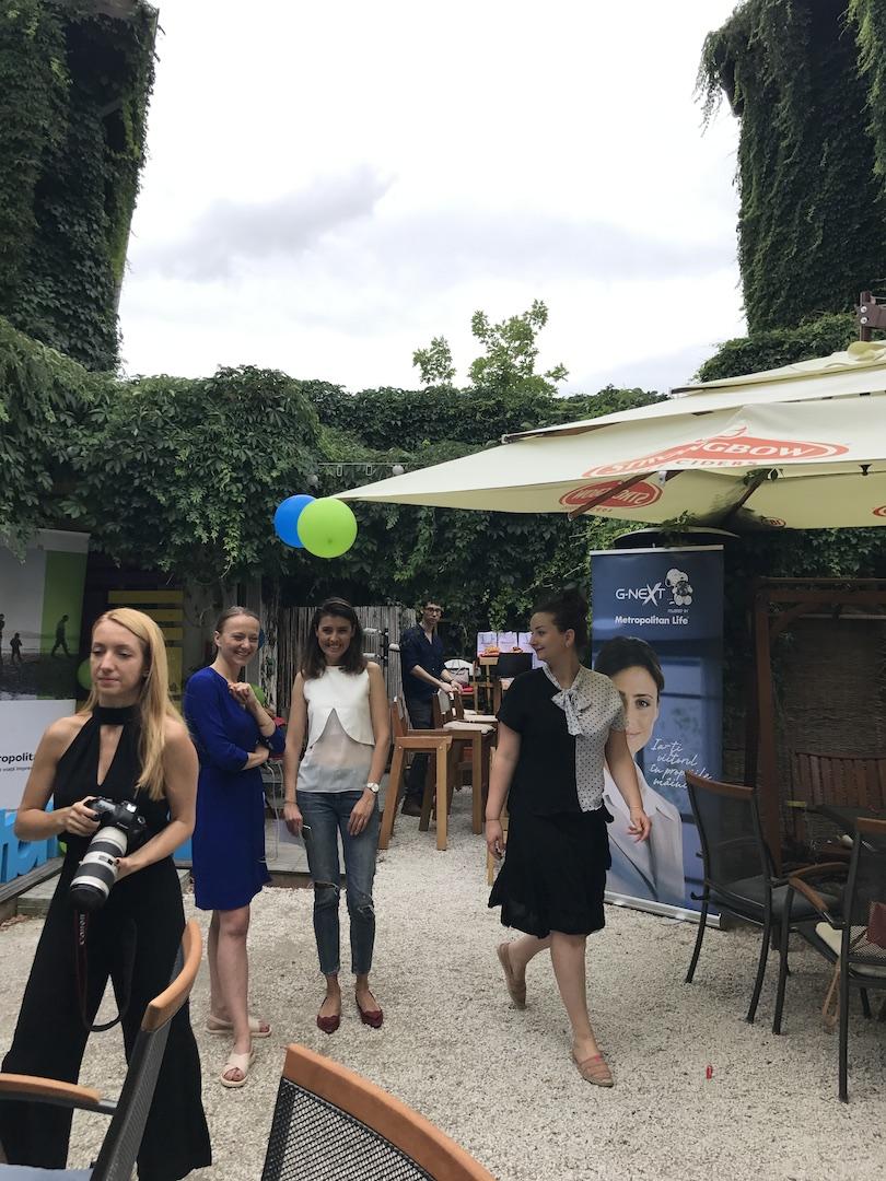 Andreea Vasiliu, Verita si Silvia Parpala si Oana Calin, McCann PR