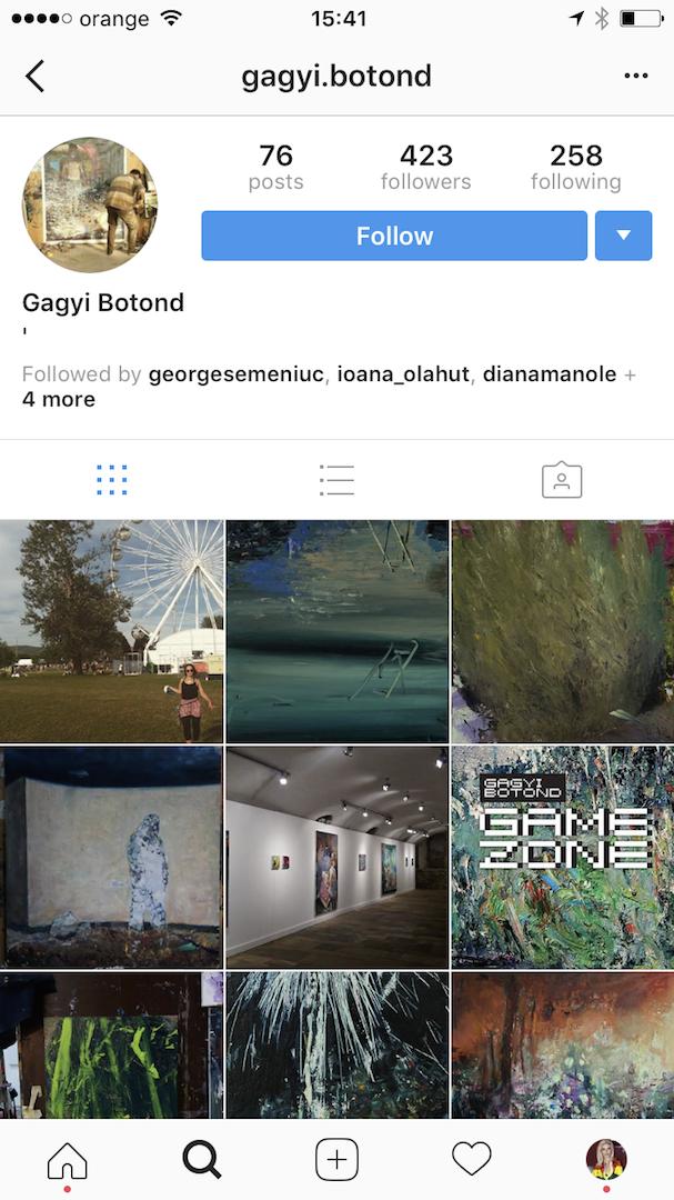 Botond Gagyi Instagram