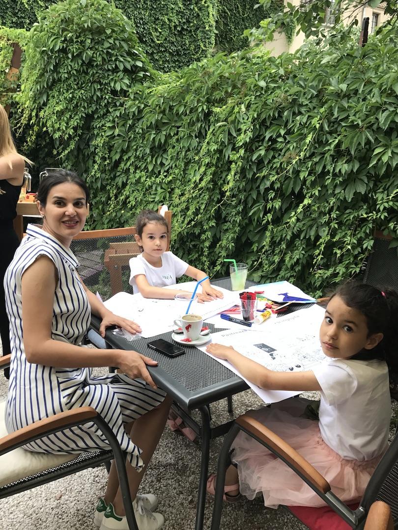 Mara Coman, Ioana si Maria, colegele noastre de curs Life Changer