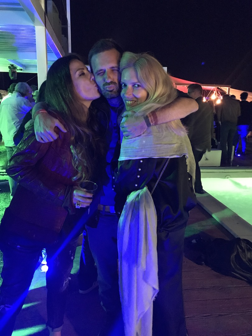 closing party, cu Mirela Bucovicean si Adrian Telespan