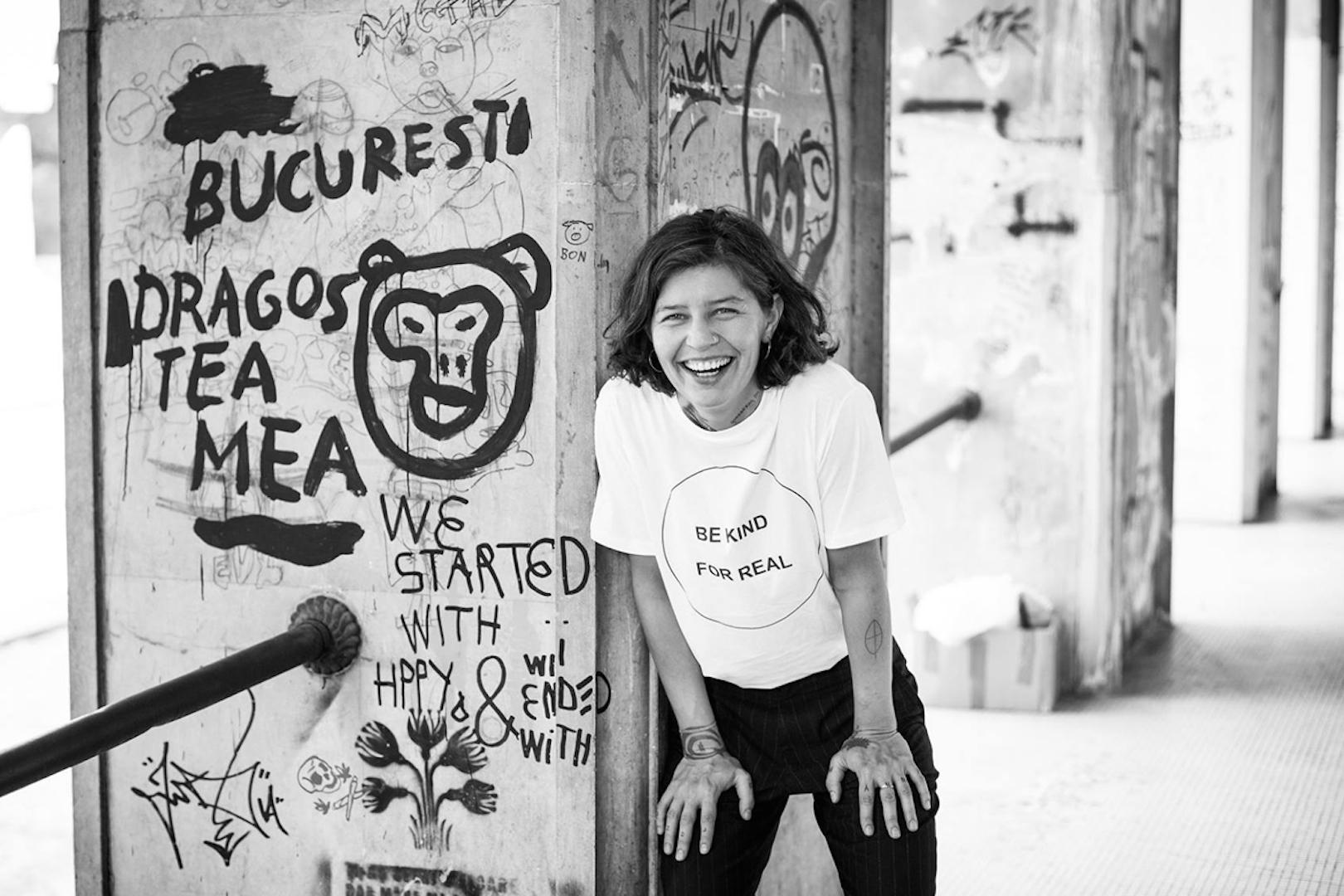 Daniela Groza, Be Kind For Real tee