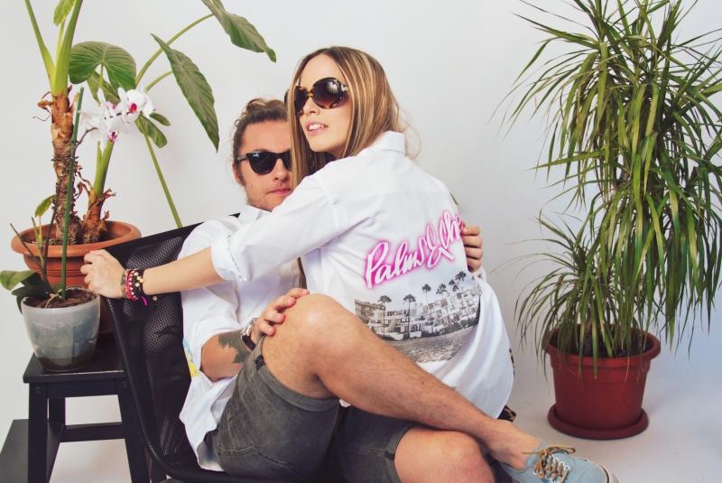 Diana Marasoiu si Florin Ioanitescu, Camasa Alba de vacanta cu Pineberry Shirts si Skin Deep