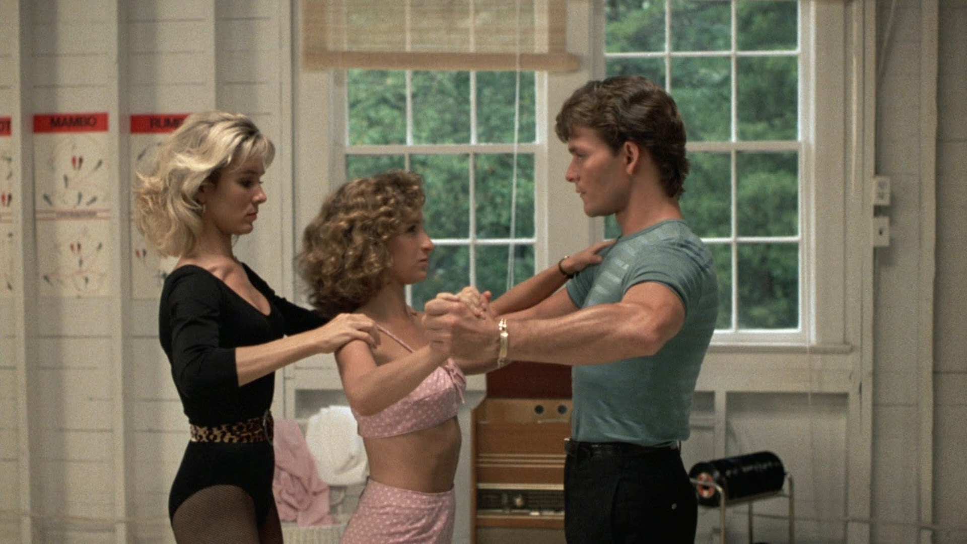 deschidere material, dirty dancing