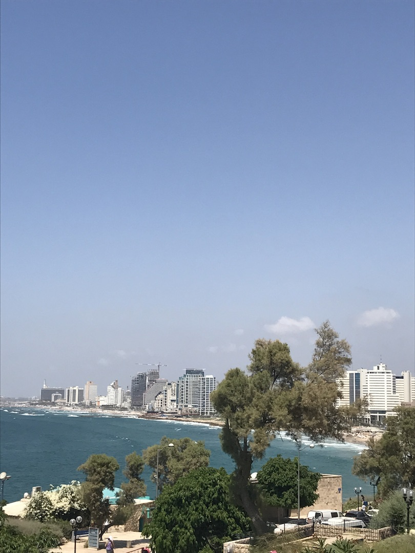 Tel Aviv vazut din Jaffa