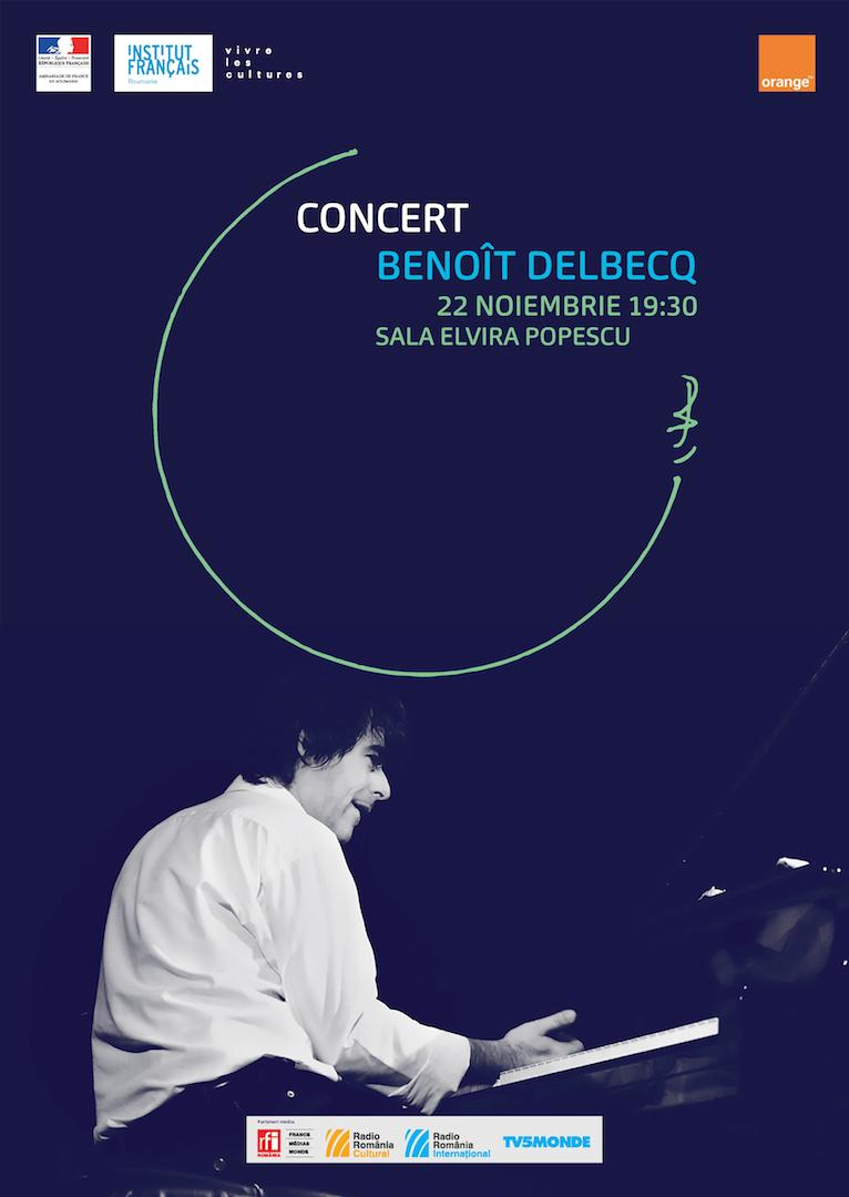 Afis concert Benoît Delbecq