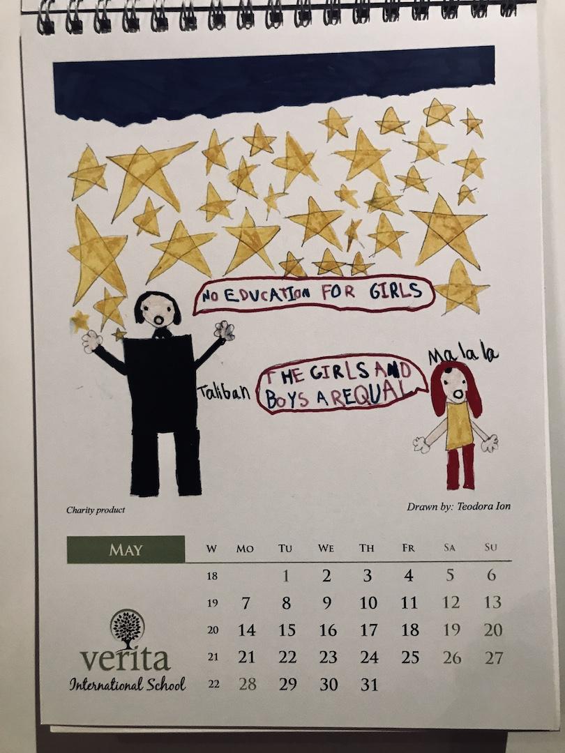 Calendarul Malala 2