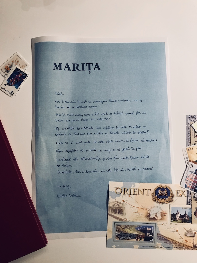 Marita, scrisoarea scrisa de Catalin Anchidin