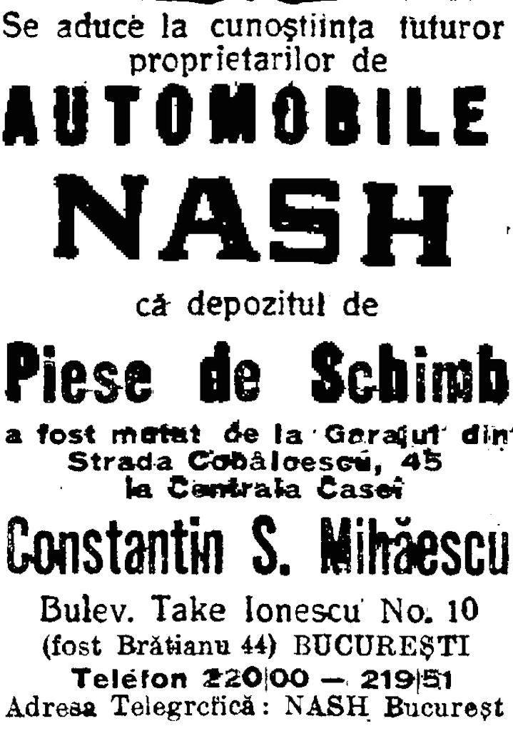 Adevarul, 29 iulie 1931, reclama