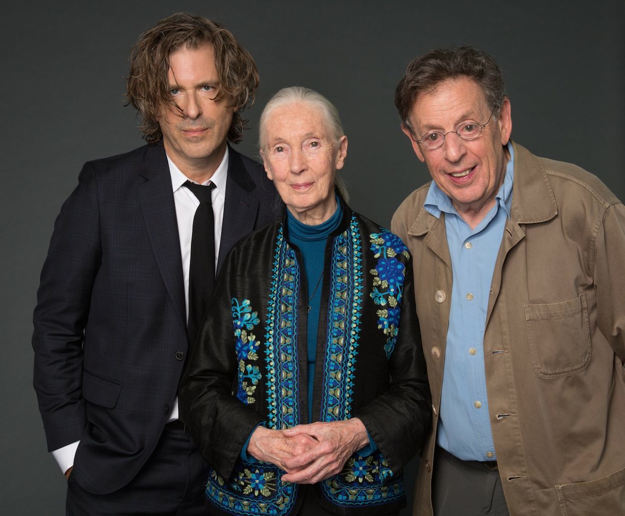 Brett Morgen, Jane Goodall si Philip Glass