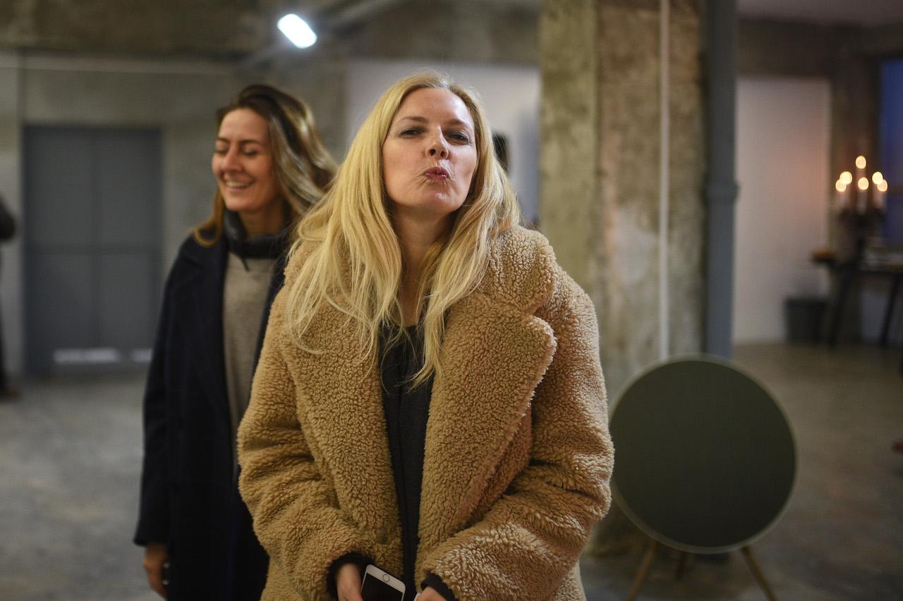 love it, cu Adriana Chiper, by Alberto Grosescu, la deschiderea Halucinarum Loft, 21 martie 2018