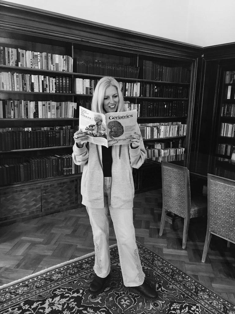 In biblioteca Ana Aslan