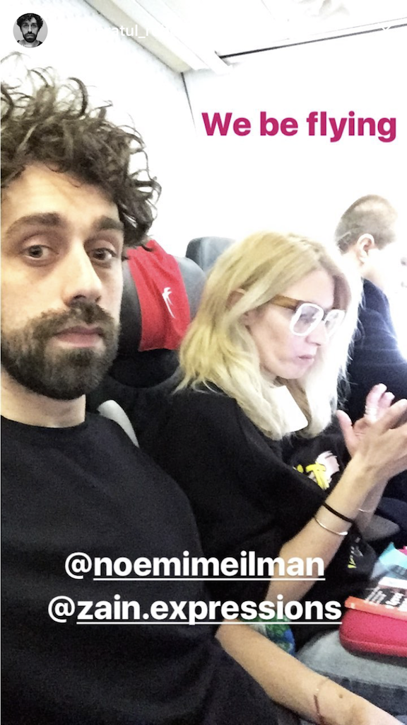 flying to Cluj, Zain Expressions, mai 2017
