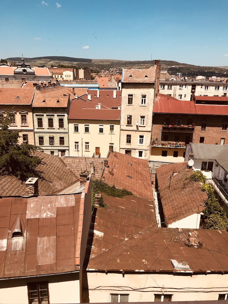Cluj roofs