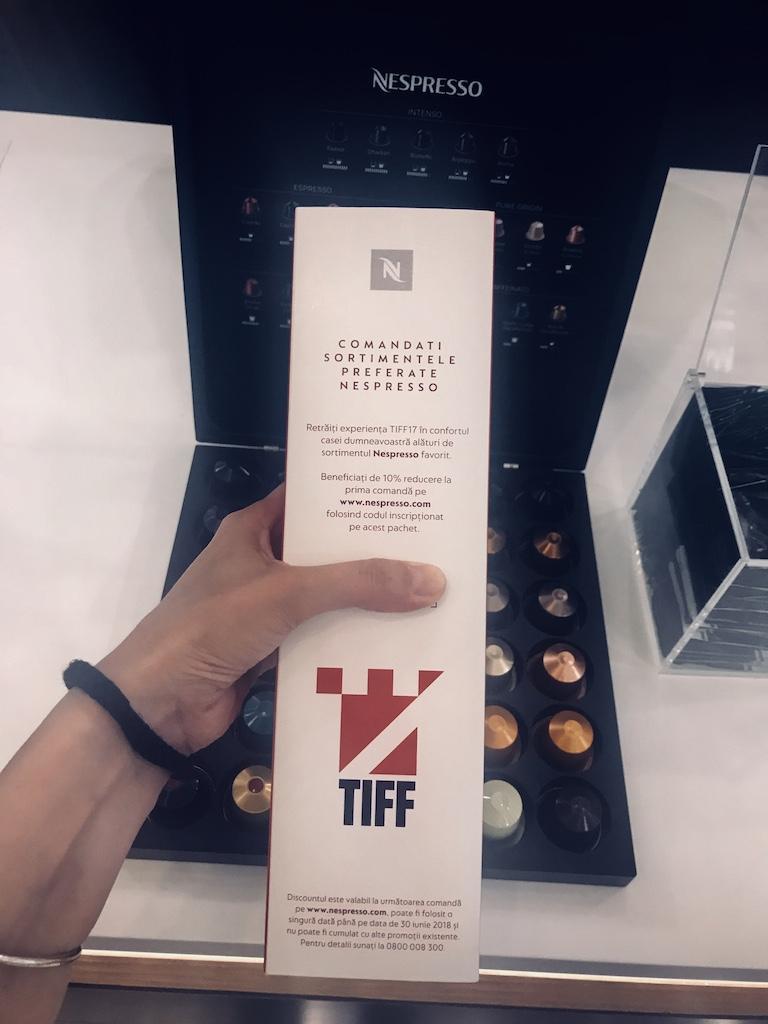 Nespresso TIFF