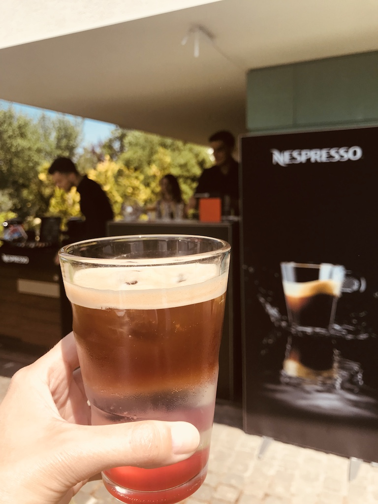 Nespresso cocktail