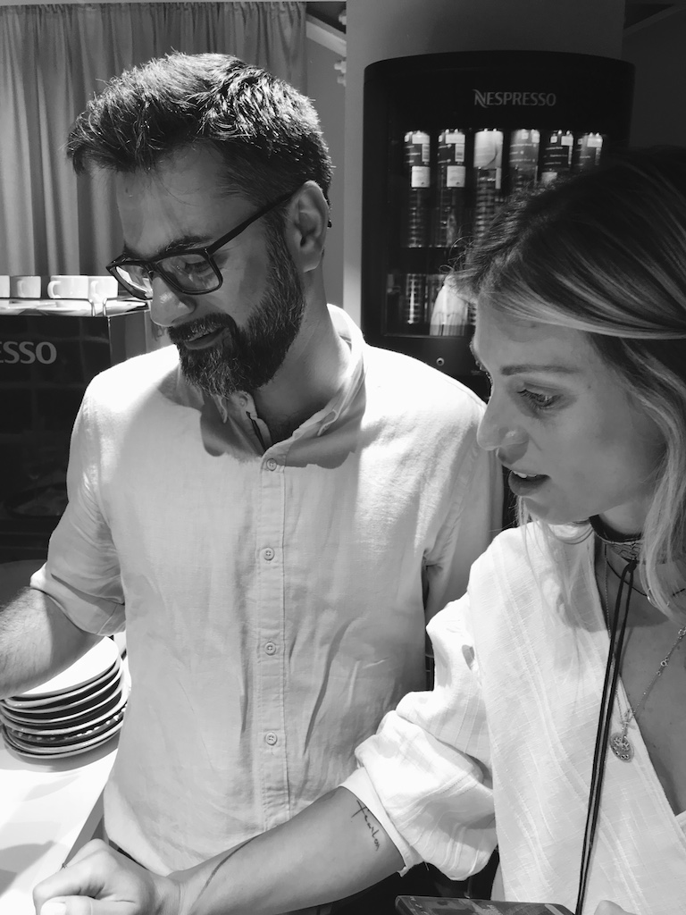 Sorina Fredholm si Marius Chivu