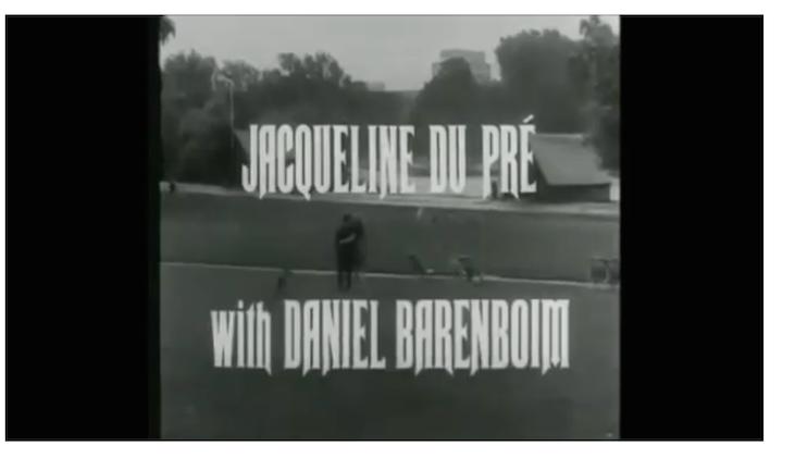 Jacqueline du Pre si Barenboim, Elgar Cello Concerto, preferatul meu