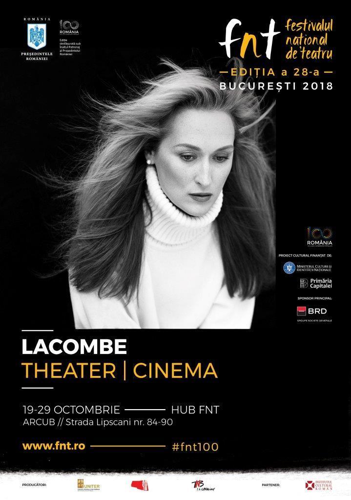 Afis Expozitie Brigitte Lacombe FNT 2018