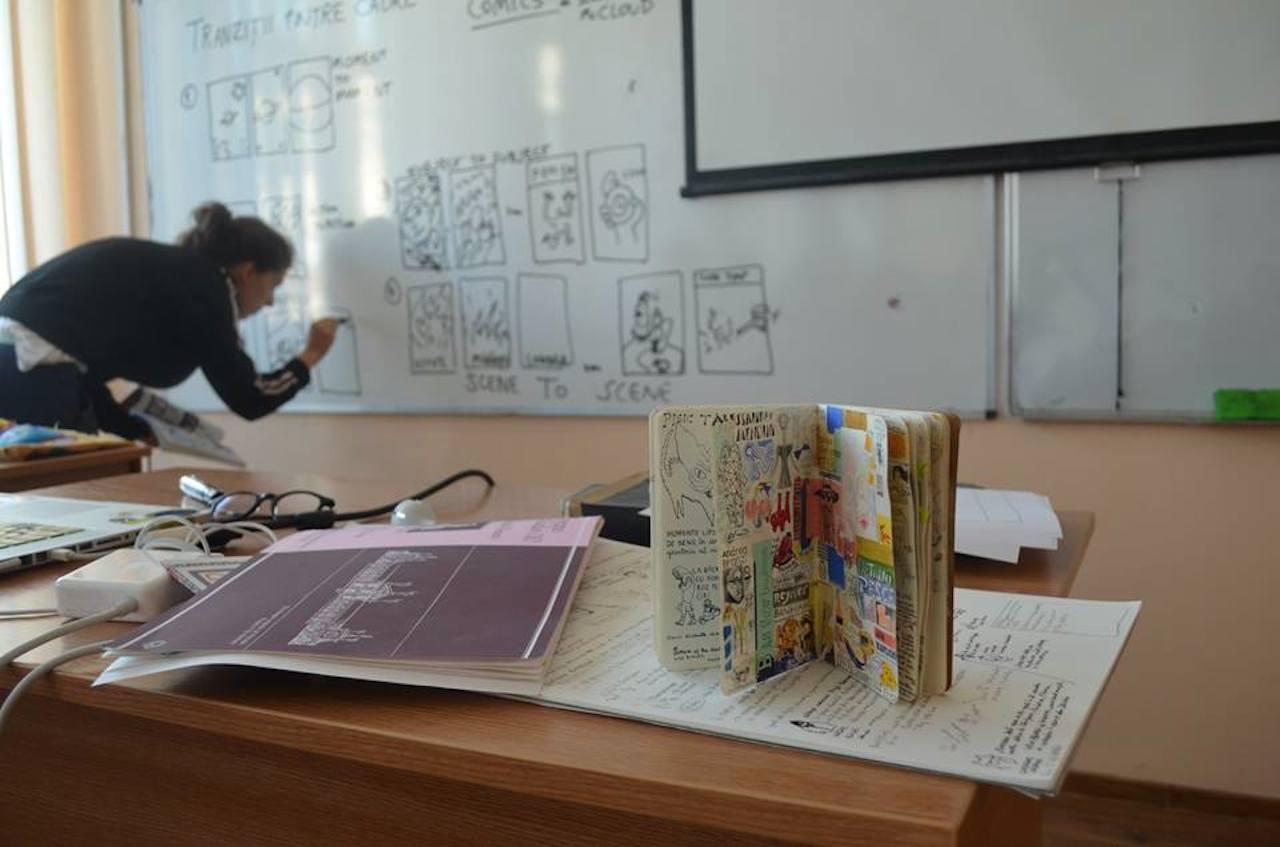 4, 3, atelier de bandă desenată cu Sorina Vasilescu