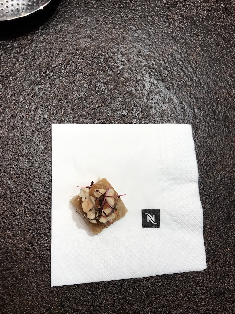Nespresso detaliu blat din zat