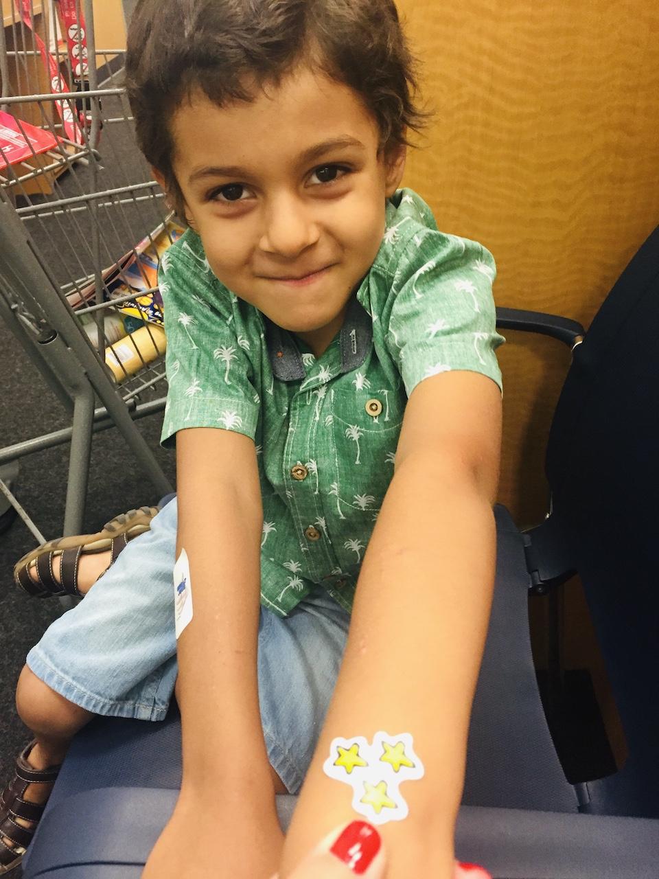 Avi dupa vaccinarea din Las Vegas, mai 2015