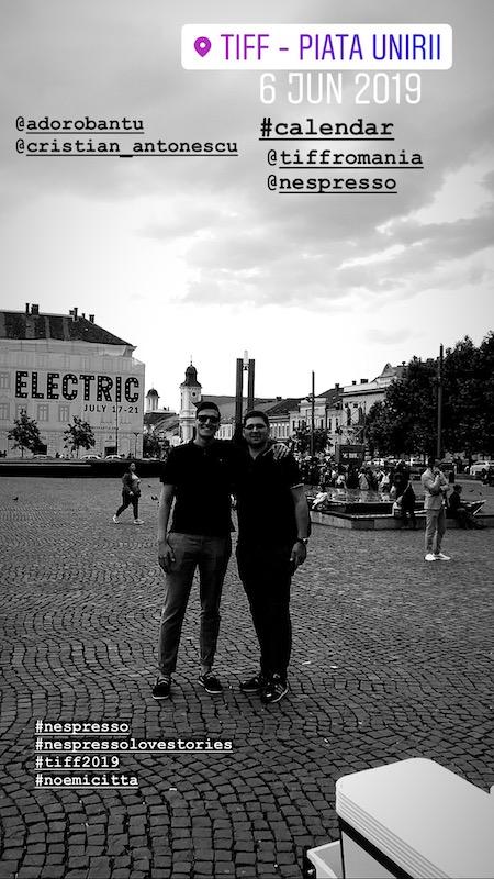 Alin Dorobantu si Cristian Antonescu, Piata TIFF