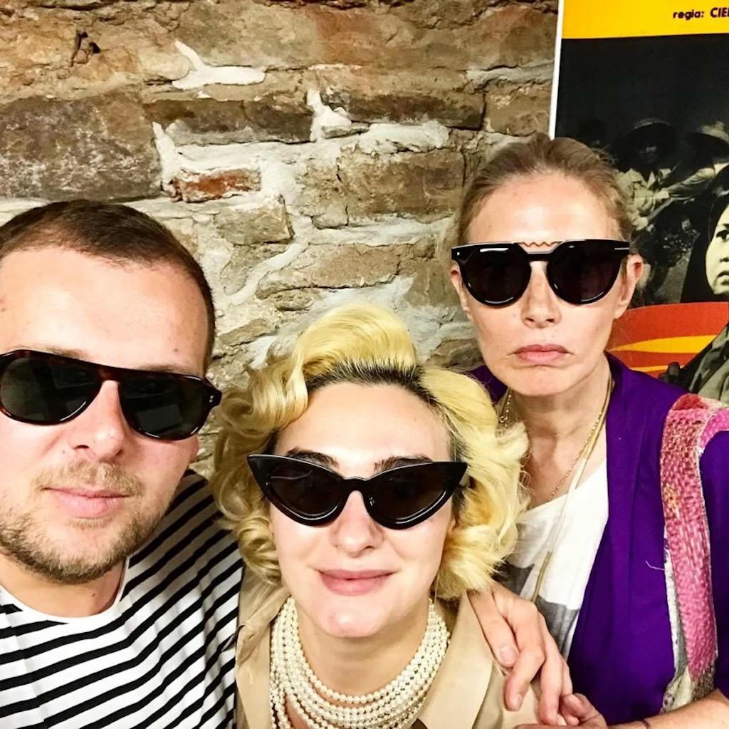Cu Ana Morodan si Gorge Man la expozitiile de la Casa TIFF
