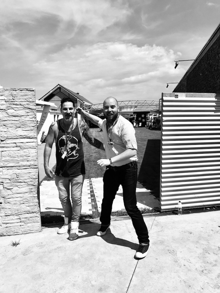 Tiberu Capudean si Jonathan Agassi