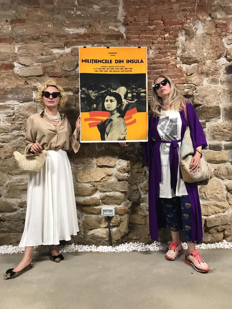 cu Ana Morodan, expo afise Casa TIFF