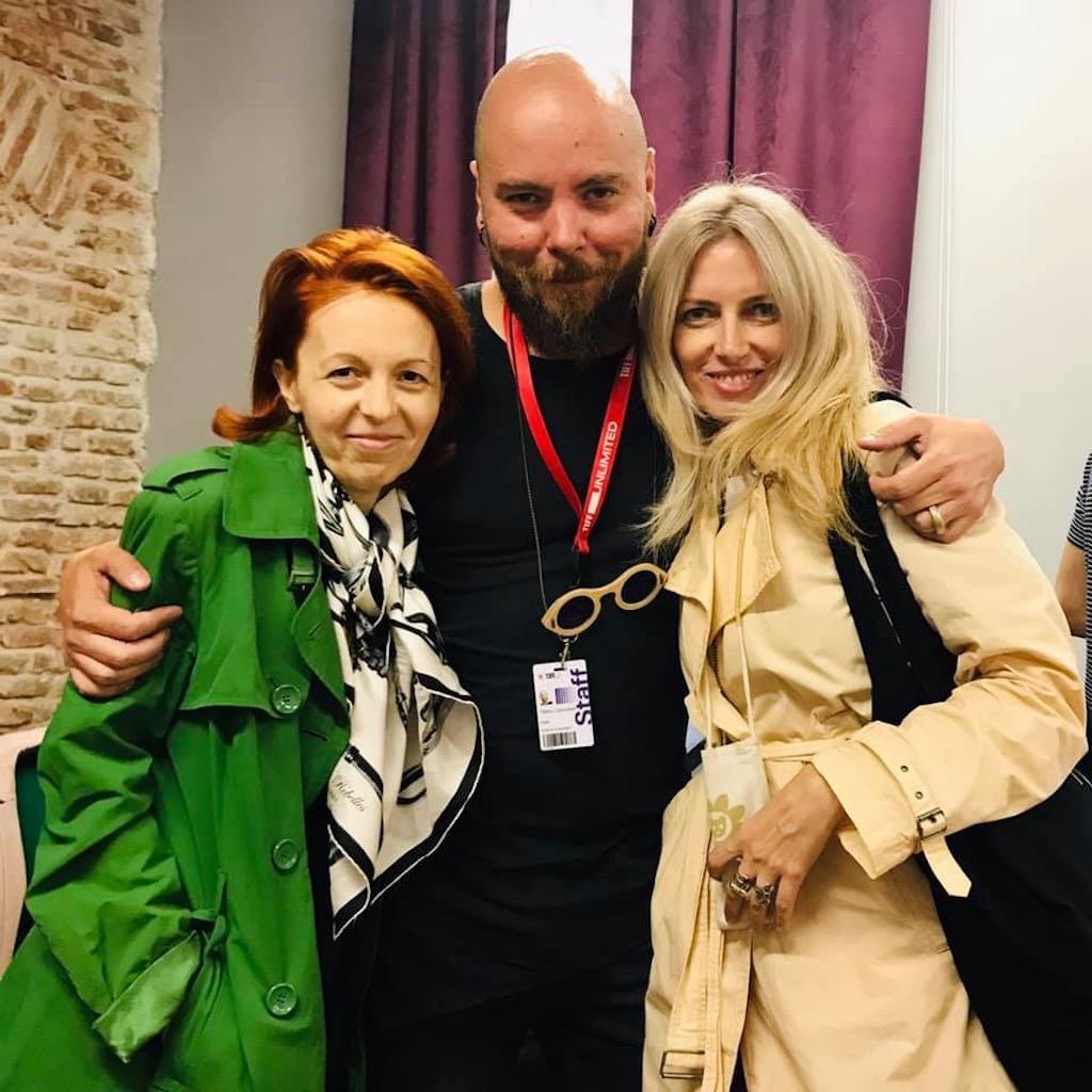 cu Cristina Bazavan si Tiberiu Capudean, 6 iunie, Casa TIFF