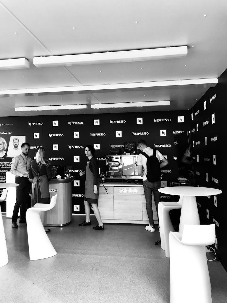 lounge-ul Nespresso stuff