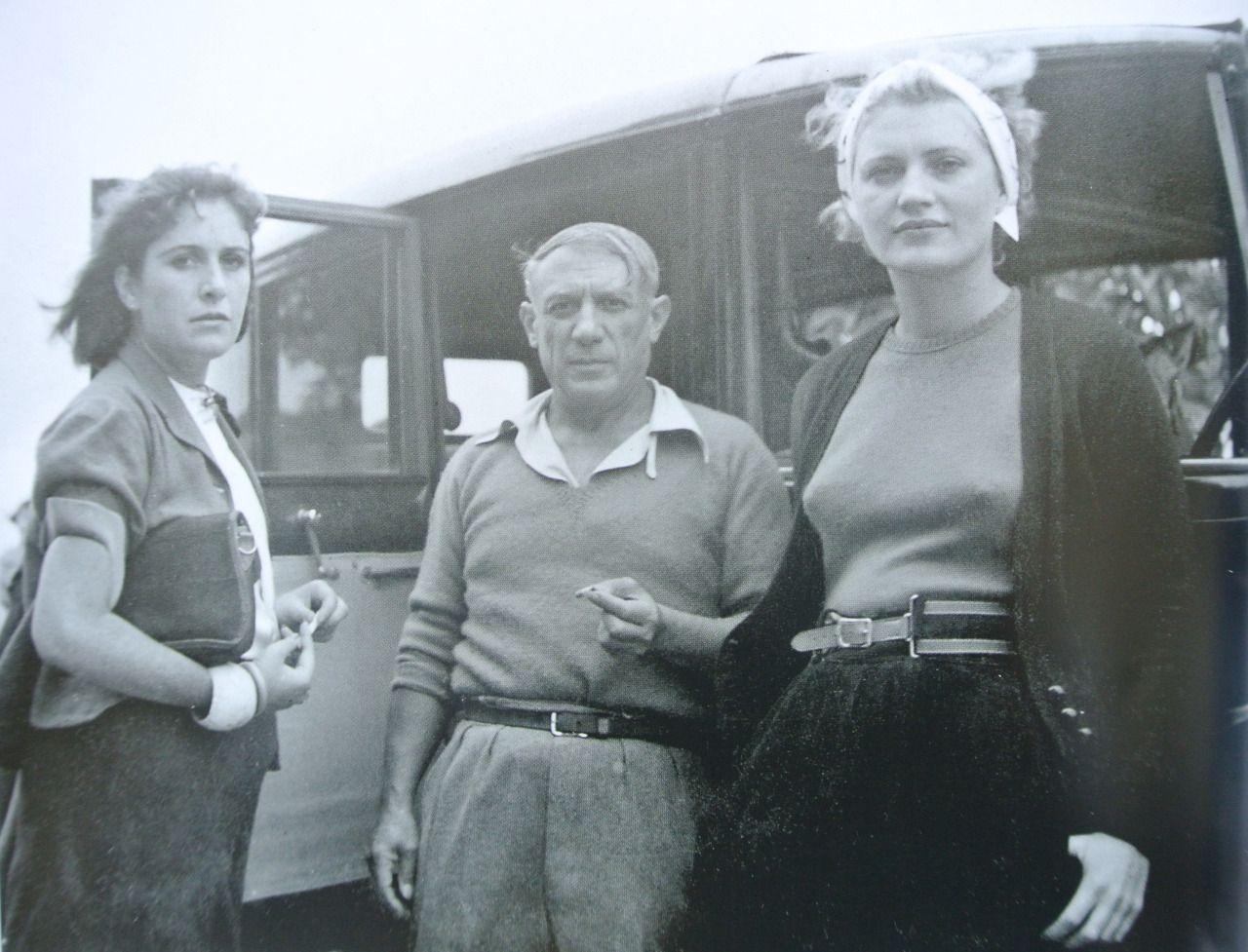 Dora Maar, Lee Miller si Picasso, 1937